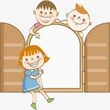 child looking in mirror clipart. mirror child free png looking in clipart
