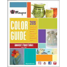 Mayco Jungle Gems Color Chart 2019 Mayco Color Guide