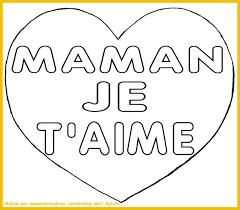 Coloriage A Imprimer De Coeur Pour Maman J Aime Pinterest Coeur A Colorier Pour MamanlL