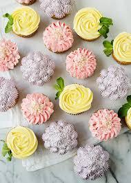 How To Make Flower Cupcakes Roses Zinnias And Hydrangeas