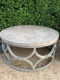 round patio coffee table garden coffee table outdoor patio furniture outdoor side table with umbrella hole