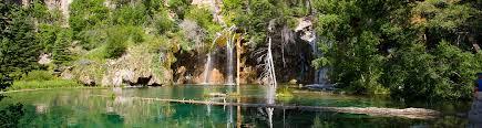 hanging lake in glenwood springs colorado