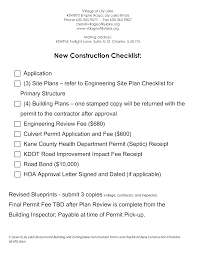 Site Plan Template How To Create A New Construction Checklist Download This