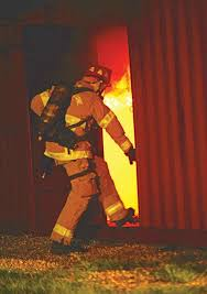 Training for Camp Lejeune firefighters heats up with a live burn ...