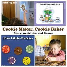 Cookie Maker Cookie Baker Online Book Activities Kidssoup