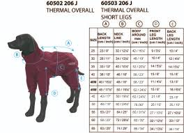 Rukka Trousers Size Chart Rukka Thermal Overall Dog Jacket In Burgundy