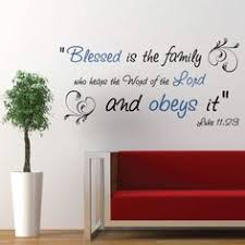 Faith, CODE 073, <b>Christian wall decals</b> | Wall art scriptures 40-49 ...