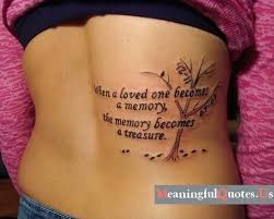 Love Quote Tattoos Fascinating 48 Girl Quote Tattoos You May Love Pretty Designs
