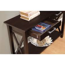 Patio Furniture Kitchener Simpli Home Kitchener Console Table Reviews Wayfair