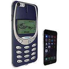 nokia old school. 593 - vintage nokia old school funny design print look 3310 iphone 6 6s 4.7