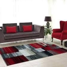red and grey area rugs red and gray area rug currant grey abstract color on red and grey area rugs