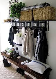 Bench With Storage And Coat Rack 100 Amazing Entryway Storage Hacks Ideas You'll LOVE 73