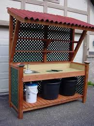 How To Build A Potting Bench  This Old HousePlans For A Potting Bench