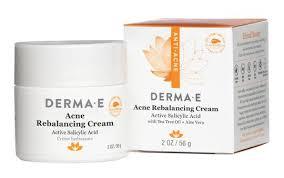 Derma E <b>Acne Rebalancing Cream</b> ingredients (Explained)