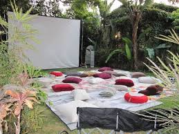 Backyard Movie Projector  Home Outdoor DecorationMovie Backyard