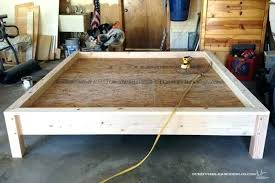 building a wooden bed frame we have so much fun finding great easy diy with storage