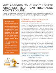 compare multi car insurance quotes raipurnews