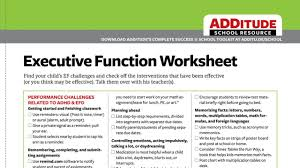 Adhd Maturity Lag Chart Teaching Learning Strategies For Kids With Adhd Free