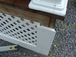 vinyl lattice fence panels. Here\u0027s A Vinyl Lattice Front Porch Skirt. Fence Panels