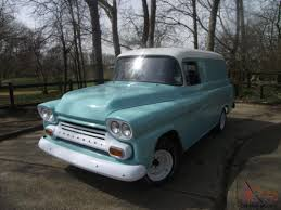 Truck 1963 chevy panel truck for sale : 1959 Chevy Apache Panel Van