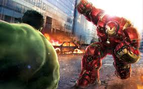 Hulk vs Hulkbuster Hd Wallpaper for ...