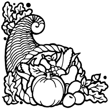 Small Picture To Print Thanksgiving Cornucopia Coloring Pages 45 With Additional