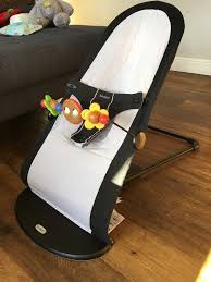 baby bjorn baby bouncer excellent condition with wooden toy