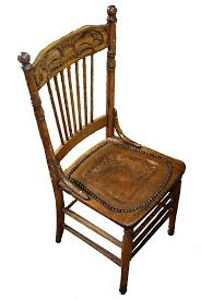 antique oak spindle back chairs antique oak pressed back spindle chair with tooled leather seat antique