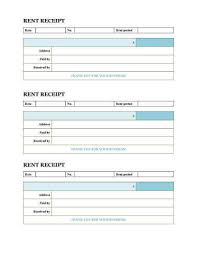 printable rent receipt template 10 free rent receipt templates