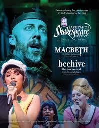 2018 Season Playbill Lake Tahoe Shakespeare Festival By