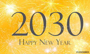 happy new year 2030. Simple 2030 Silvester 2030  Happy New Year Intended P