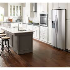 whirlpool wrs970cidm 36 inch wide side by counter depth in countertop refrigerator plans
