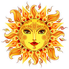 славянское солнце картинки