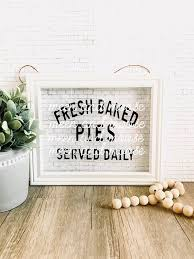 Fresh Baked Pies Served Daily Svg Jpeg File Farmhouse Etsy