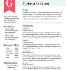 New Photograph Of Beautiful Resume formats