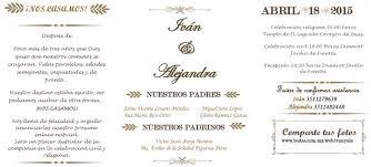 formato de invitaciones de boda invitaciones check foro organizar una boda bodas com mx