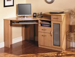 solid wood corner desk  trendy interior or solid wood corner