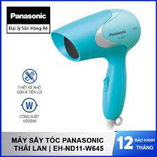 Máy sấy tóc Panasonic EH-ND11-W645 sản xuất Thái Lan, hàng chính hãng bảo  hành 12 tháng - Xanh - 235,000