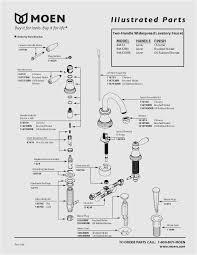 moen cau kitchen faucet parts diagram luxury moen shower faucet installation moen shower faucet handle