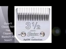 Oster Classic 76 Hair Clipper Blades All Sizes Prices
