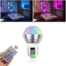 lighting gadgets. Magic Lighting RGB Color Changing Light Bulb - Bright Colors, Fun Gadget To Own Gadgets T
