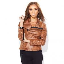 giuliana rancic express limited edition distressed jacket womens leather jacket