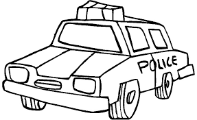 coloring pages for 3 year old boy 10 best police police car