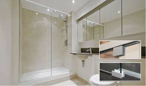 crl debuts cabo soft slide frameless shower door systems with softbrake technology