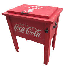 get quotations leigh country cp coca cola vintage cooler 54 quart red