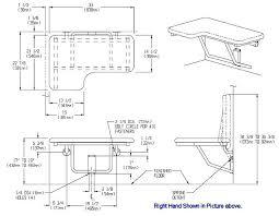 ada shower bench folding shower seat with cushion handicap shower seat installation