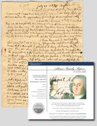coming of the american revolution document viewer composite reference image showing three manuscript pages