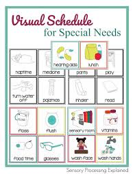 How To Use Visual Schedules With Your Special Needs Child