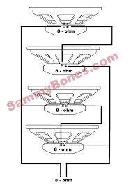 8 ohm wiring diagram 8 Ohm Speaker Wiring Diagrams 4 speaker 8 ohm wiring diagram 8 ohm speaker wiring diagrams