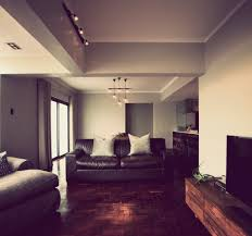 ... Asian Living Room with Wood Bachelor Pad Interior and Lawson Sofa  Furniture ...